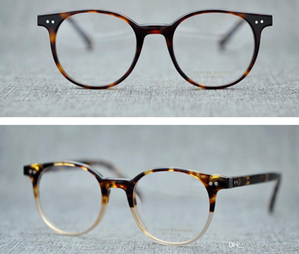 6b2bed6ecd Retro optical glasses frame oliver peoples ov brand designer jpg 985x834  Round oliver peoples mens frames