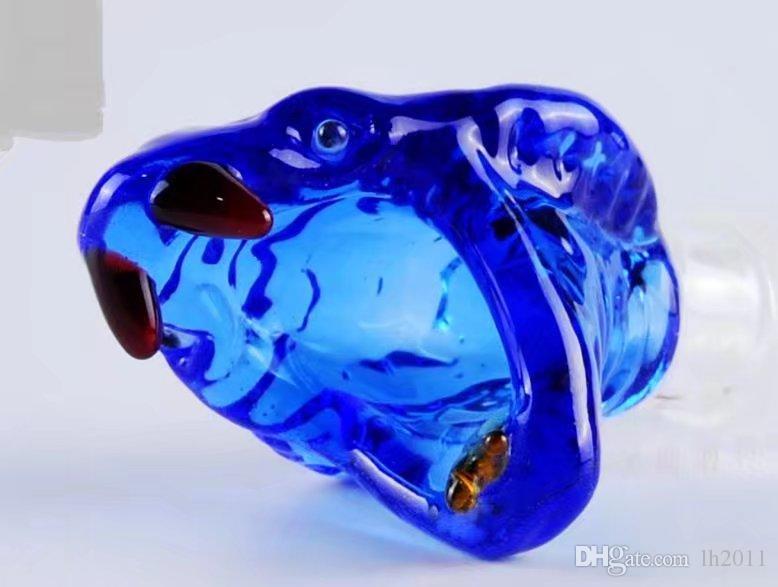 Дятел голова, Оптовая бонги масляная горелка стеклянные трубы водопроводные трубы стеклянная труба нефтяные вышки курение Бесплатная доставка