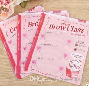 Maquiagem Genuine Etude House Card Thrush Novato Simples Três Tipos De Sobrancelha Stencils Ferramentas Sobrancelha Sobrancelha Cartão