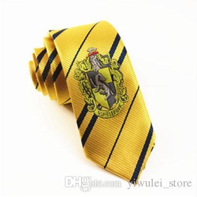 Харри Поттер галстук галстуки Гриффиндор / Слизерин / Хаффлпафф / Равенкло галстук галстуки косплей костюмы 4 дома Гарри Поттер галстук дать детям подарок