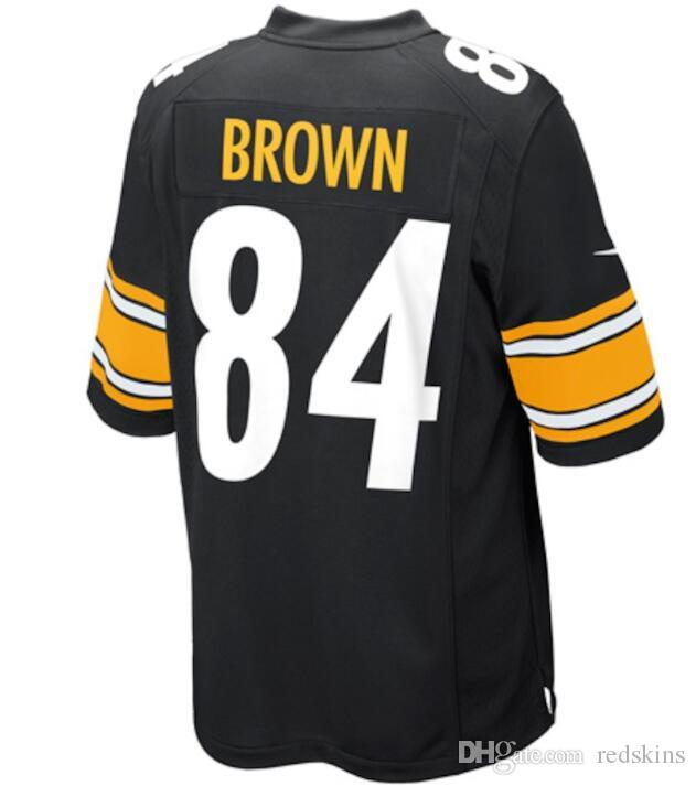 8c345dce21e ... netherlands 2018 84 antonio brown jersey alejandro villanueva pittsburgh  steelers vapor untouchable color rush america football