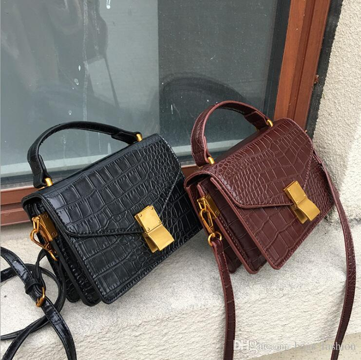 2018 Women Shoulder Bag Fashion Crossbody Bag PU LeatherLuxury Handbag  Women Bag Designer Ladies Messenger Bags for Free shipping ba2bbfe1a5f98