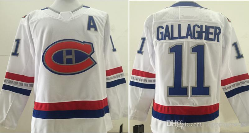 Montreal canadiens New #6 Shea Weber 11 Brendan Gallagher Mens Ice Hockey Shirts Pro Sports team Jerseys Cheap Stitched Embroidery On Sale