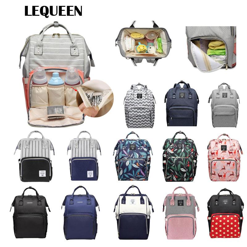 fa0560f869d 2019 LEQUEEN Fashion Mummy Maternity Diaper Bags Brand Large Capacity Baby  Bag Baby Care Nappy Backpack Designer Stroller Bag From Breenca,  30.68    DHgate.