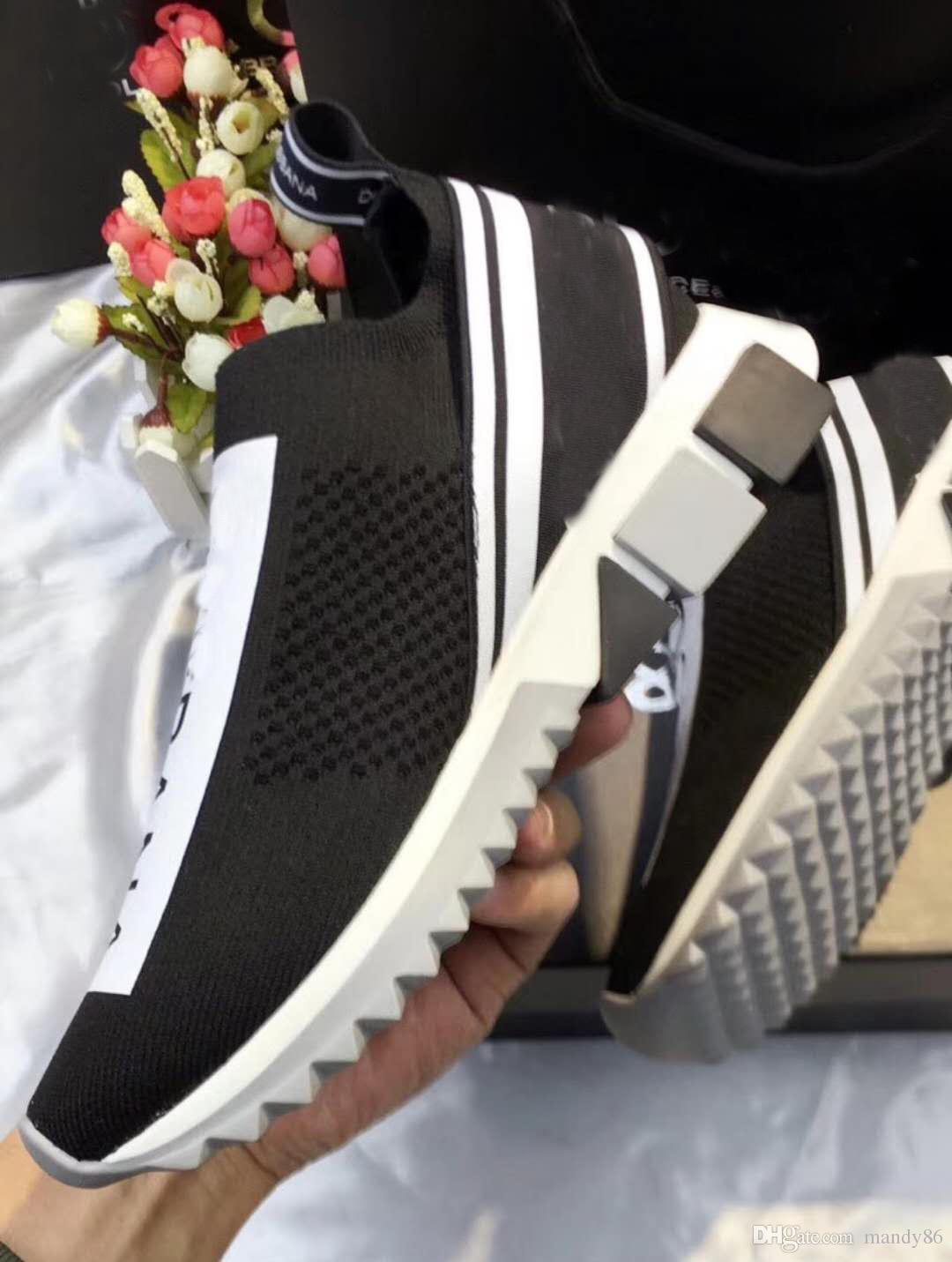 a48ca4ee604 2018 Fashion Stretch Women Shoes Woman Sneakers Casual Shoes Zapatillas  Deportivas Sapatos Femininos Sapatilha Alphabet Series Blue Shoes Clogs For  Women ...