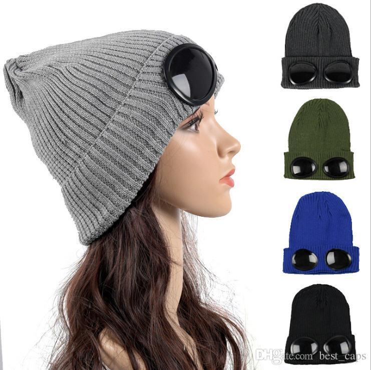 2019 Wholesale Winter Women Earflap Pilot Aviator Beanie Knitted Cap Warm  Soft Beanies Hat Kids Warm Girl Beanies Sunglass Winter Hats From  Best caps da9b8333c