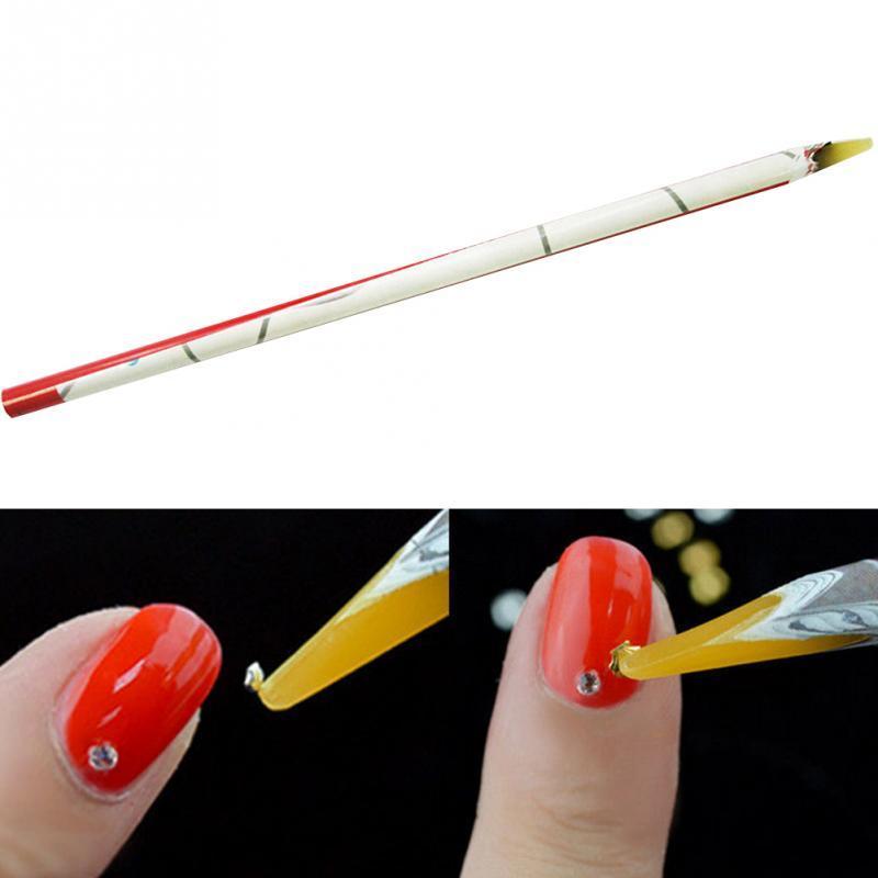 Rhinestones Picker Wax Pencil Nail Art Dotting Pen Crafts Nail Art ...