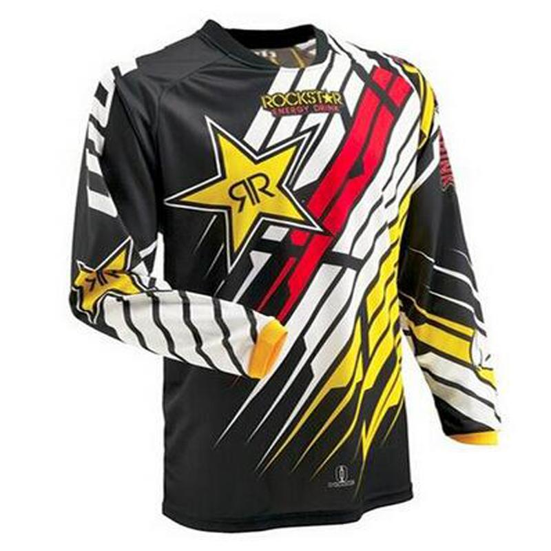 2018 Moto Jerseys 2016 Rockstar Jersey Breathable Motocross Racing Downhill  Off Road Mountain Motorcycle Shirt Swea T Shirt Long T Shirts T Shirts For  Women ... b4fec953a