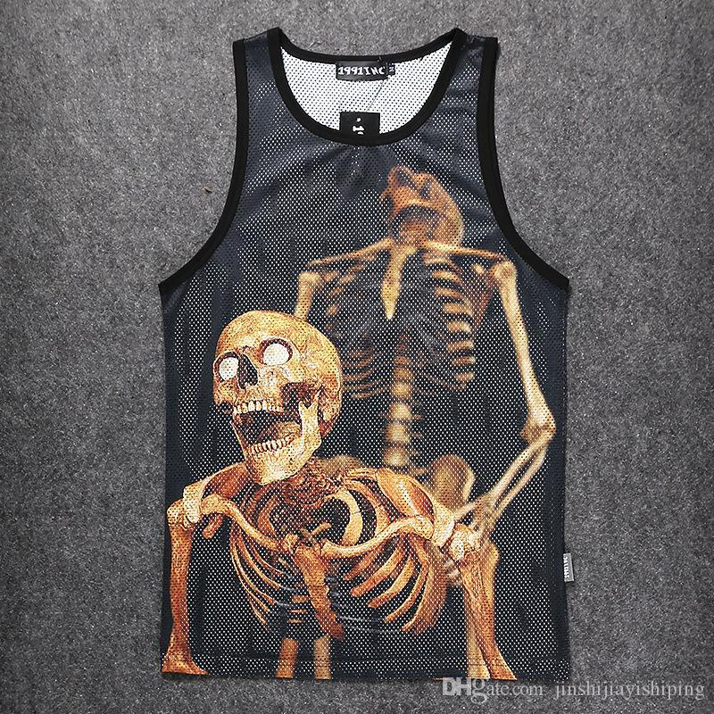New 2018 Cotton Muscle Shirt Golds Brand Clothing Tank Top Men