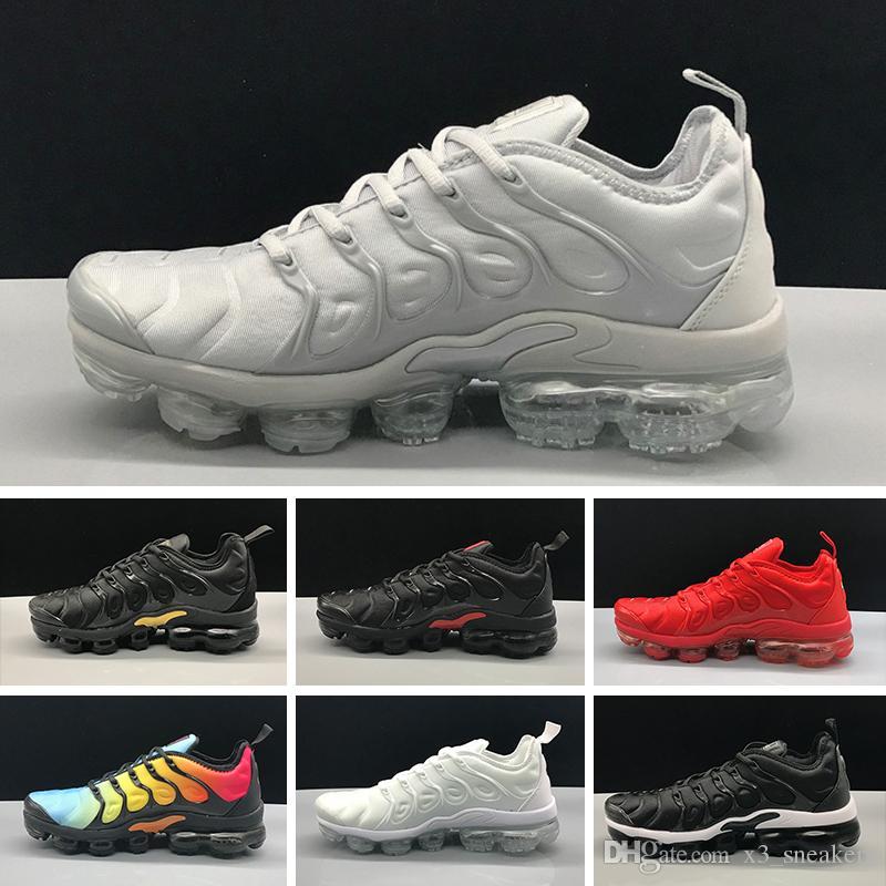 Acquista Nike Air Vapormax TN Plus Trainer Sports Sneakers Olive Uomo Donna  Sport Scarpe Da Corsa Donna Sneakers Metallic Bianco Argento Colorato  Triple ... 188025a6862