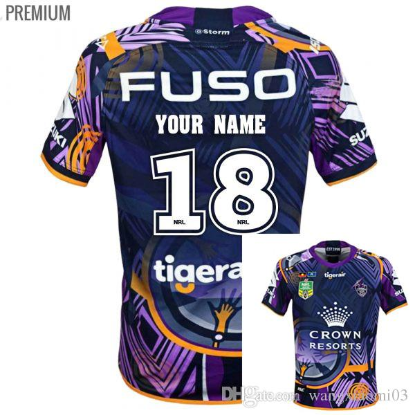 2019 NRL JERSEYS MELBOURNE STORM 2018 INDIGENOUS JERSEY 2018 2019 In Stocks  Melbourne Storm Rugby Jerseys Home Storm Rugby Size S 3XL Can Print From ... 9b791997c