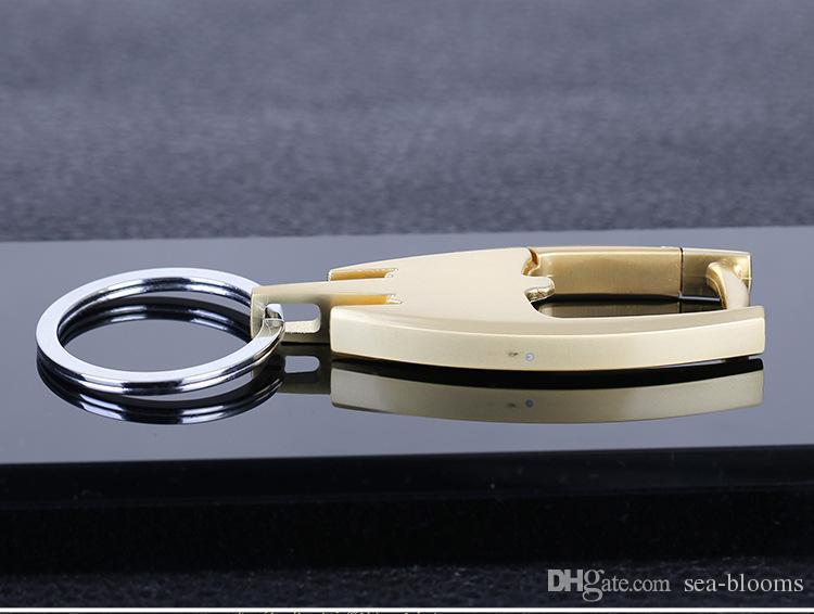 Klasik Metal Anahtarlık erkek Araba Anahtarlık Kolye Açılış Hediyeler Anahtarlık Aksesuarları Takı 3 Renk Isteğe Bağlı Destek FBA Drop Shipping G778R