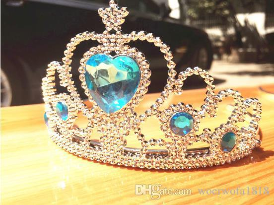 2018 New Princess Peach Children With Diamond Crown Wand Frozen