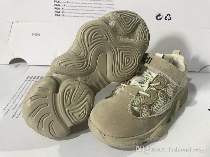 3d333c333a008 With Boxes Wholesale Kids Shoes Boost 500 Blush Desert Rat Kanye West Wave  Runner 500 Sneakers Running Shoes Athletic Sneaker Cheap Boys Running Shoes  ...