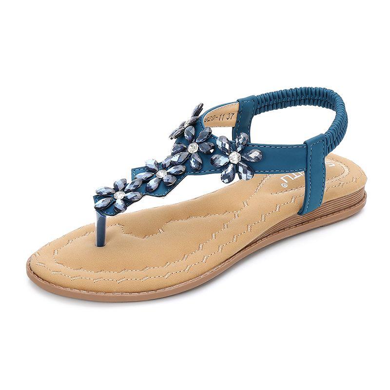 Saimeitu Women Summer Flat Sandals Shoes df80227f1bca