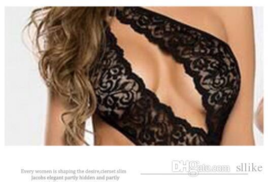 Frauen Sexy Dessous Kostüme Bodystocking Body Suit Spitzenkleid Erotische Dessous Nachtwäsche Nachtwäsche Unterwäsche Overalls