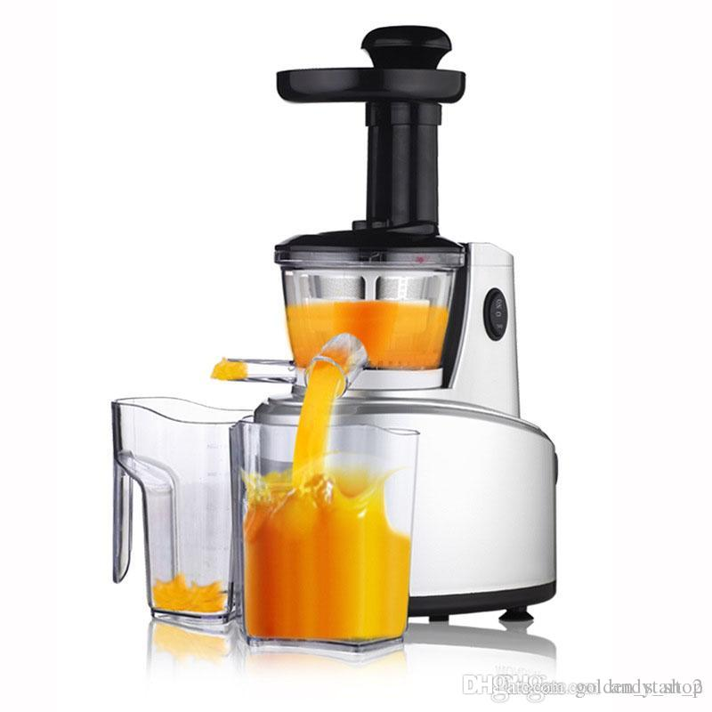 2016 New Healthy Juice Maker Slowly Juicer 250w Fruits Vegetables Low Speed Slowly Juice Extractor Juicers Fruit Drinking Machine