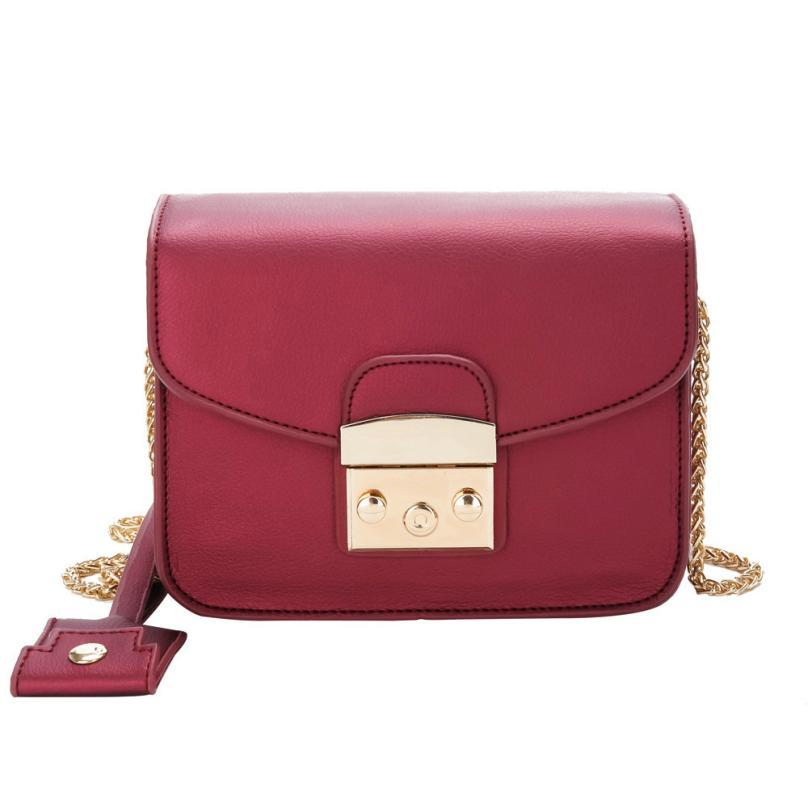 Fashion Women S Chain Shoulder Bags Luxury Handbags Women Bags Designer  Leather Small Women Party Lock Crossbody For Fashion Bags Leather Bags For  Women ...