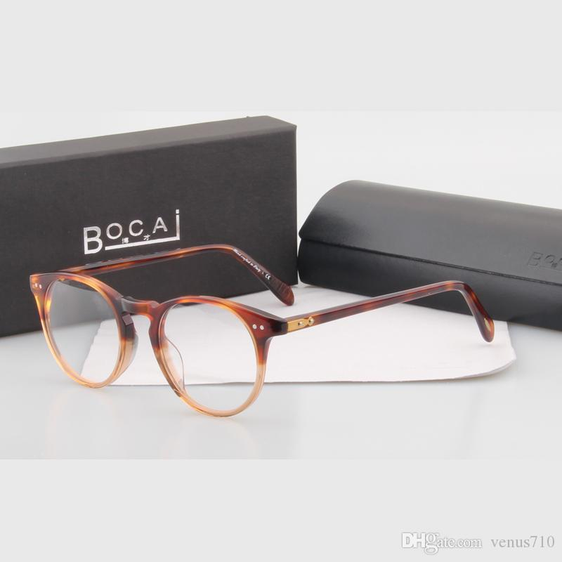 5287b32317 Wholesale- Hot! Vintage Optical Glasses Oliver Peoples Style 5256 O ...