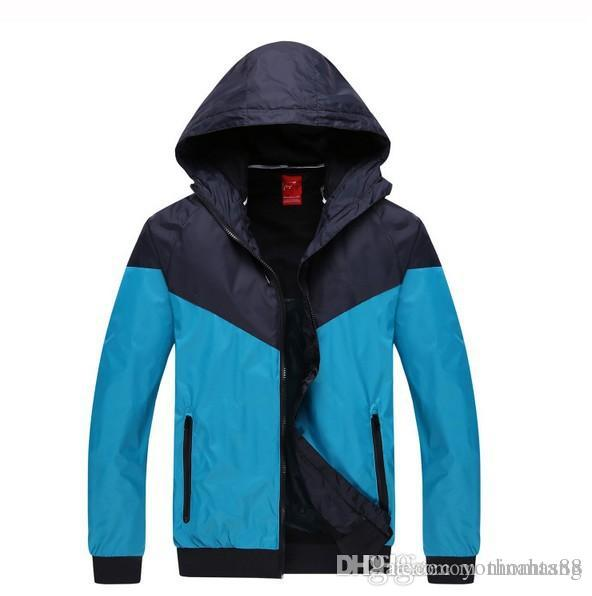2088f2bd275 Wholesale Fall Thin Windproof Men Women Sportswear Waterproof Sports ...