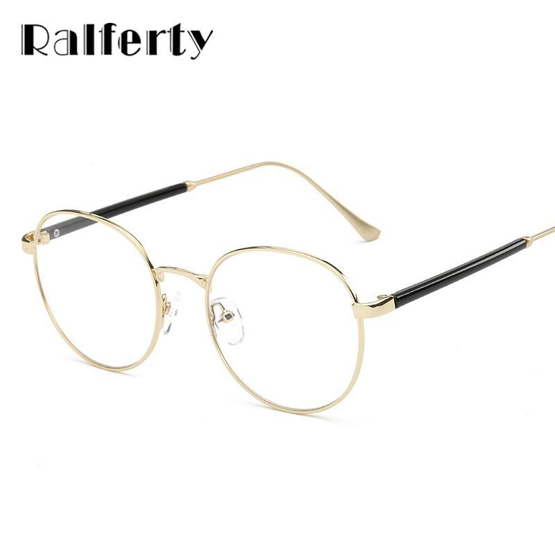 2af4d24516 Ralferty High Quality Round Optical Prescription Glasses Frames With ...