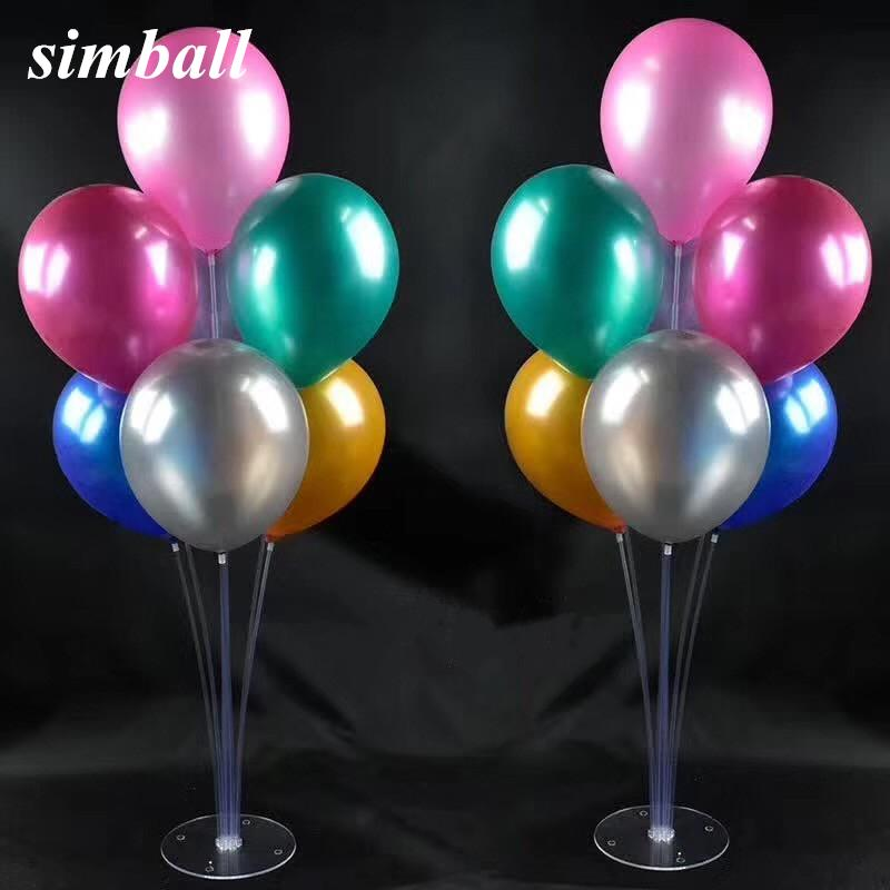 Balloon Column Base Box Amp 70cm High Wedding Decor Birthday Party Centerpiece Balloons Table Stand Supplies Large Delivery