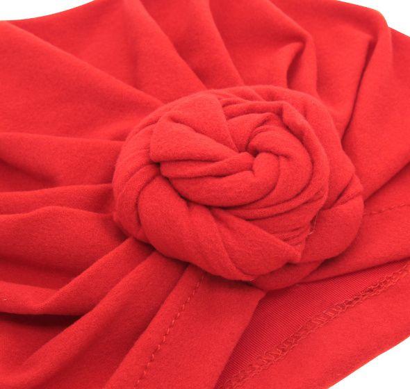 Baby Top Knot Turbante Rosa Chapéu Criança Turbante Macio Estilo Do Vintage Acessórios De Cabelo Retro Meninas Meninos Cabeça Cabeça LC697