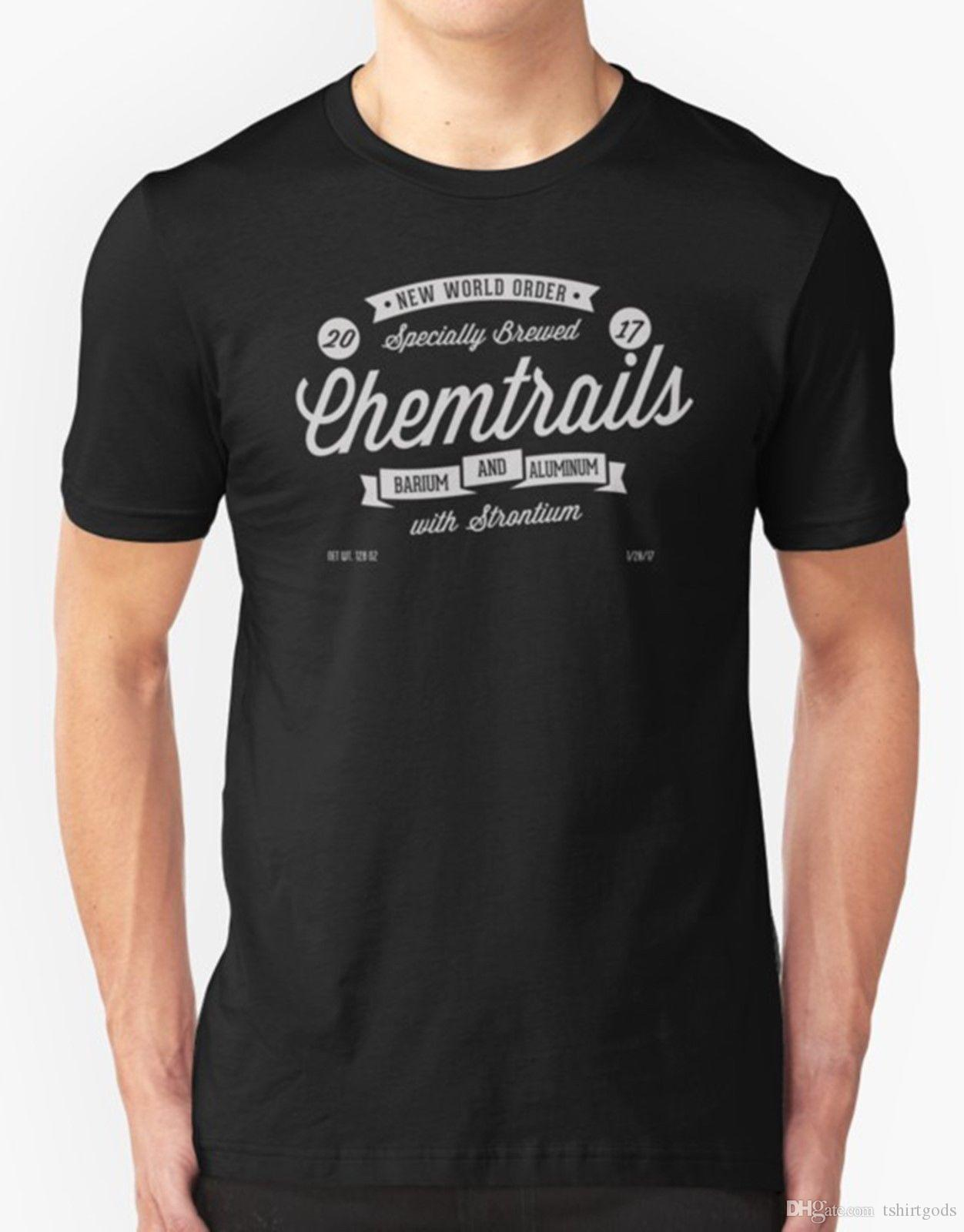chemtrails t shirt conspiracy theory new world order online shopping