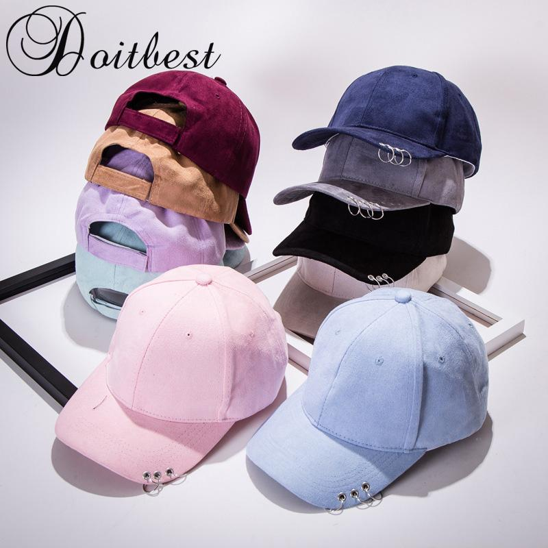 4a32eb437e6 2018 Solid Autumn Gd Unisex Three Rings Safety Velvet Soft Hats ...