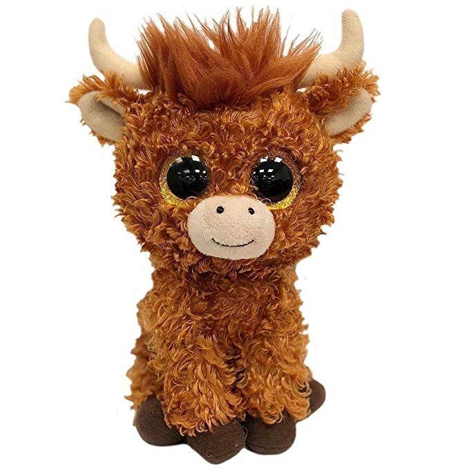 2019 Ty Beanie Babies 615cm Angus The Scottish Highland Cow Boo Key