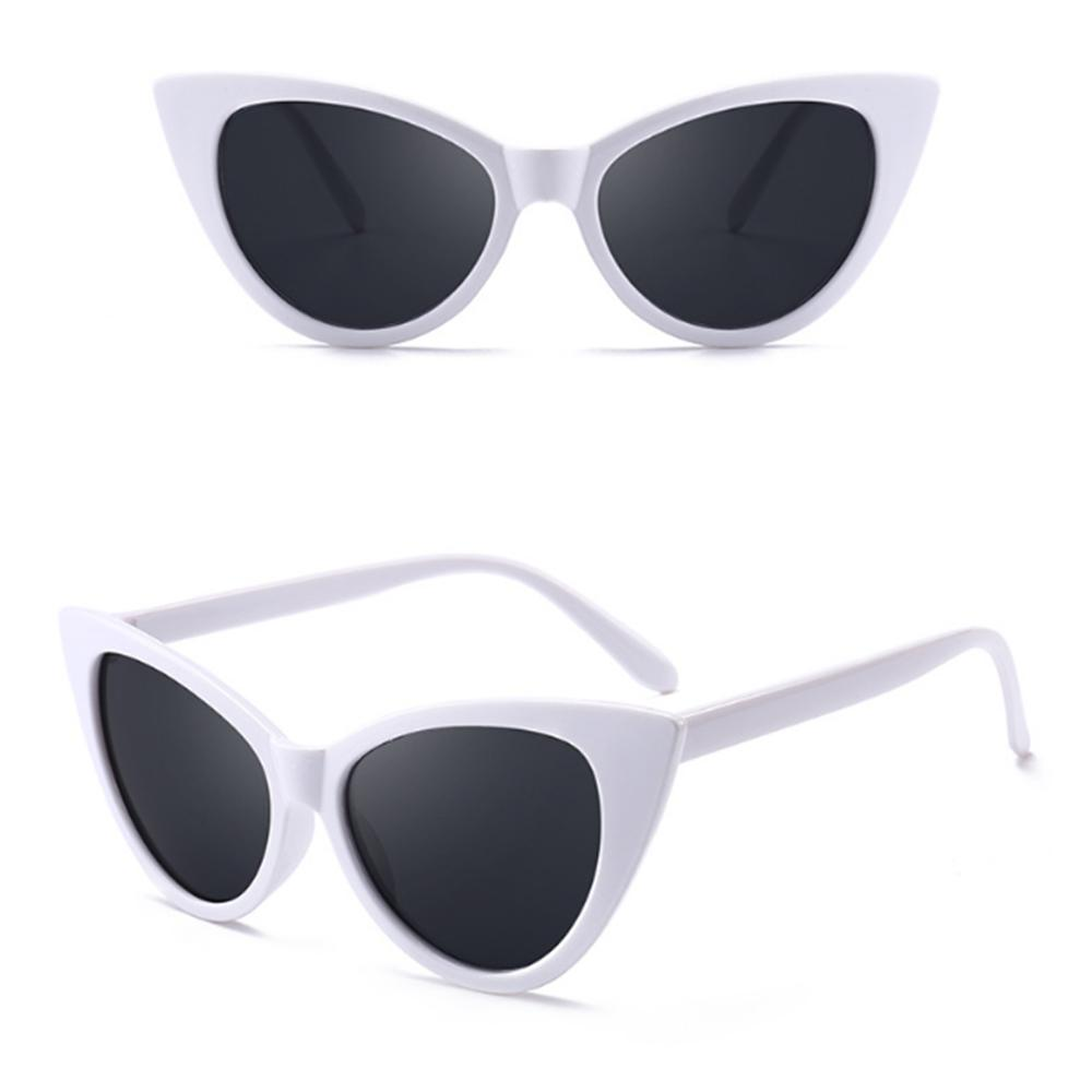 b5bcd1061d5b4 Cute Sexy Retro Cat Eye Sunglasses Women Small Black White 2018 E Vintage  Cheap Sun Glasses Red Female Uv400 Sunglasses At Night Lyrics Glasses For  Men From ...