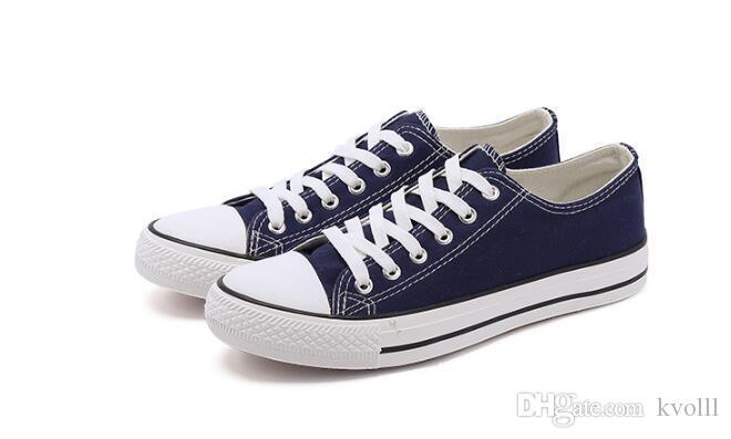 Vendita calda Classic conve2s2e Unisex LOW-Top Adulto Donna Uomo Canvas Scarpe Da Skateboard Stringate Scarpe Casual Sneaker scarpe libera la nave