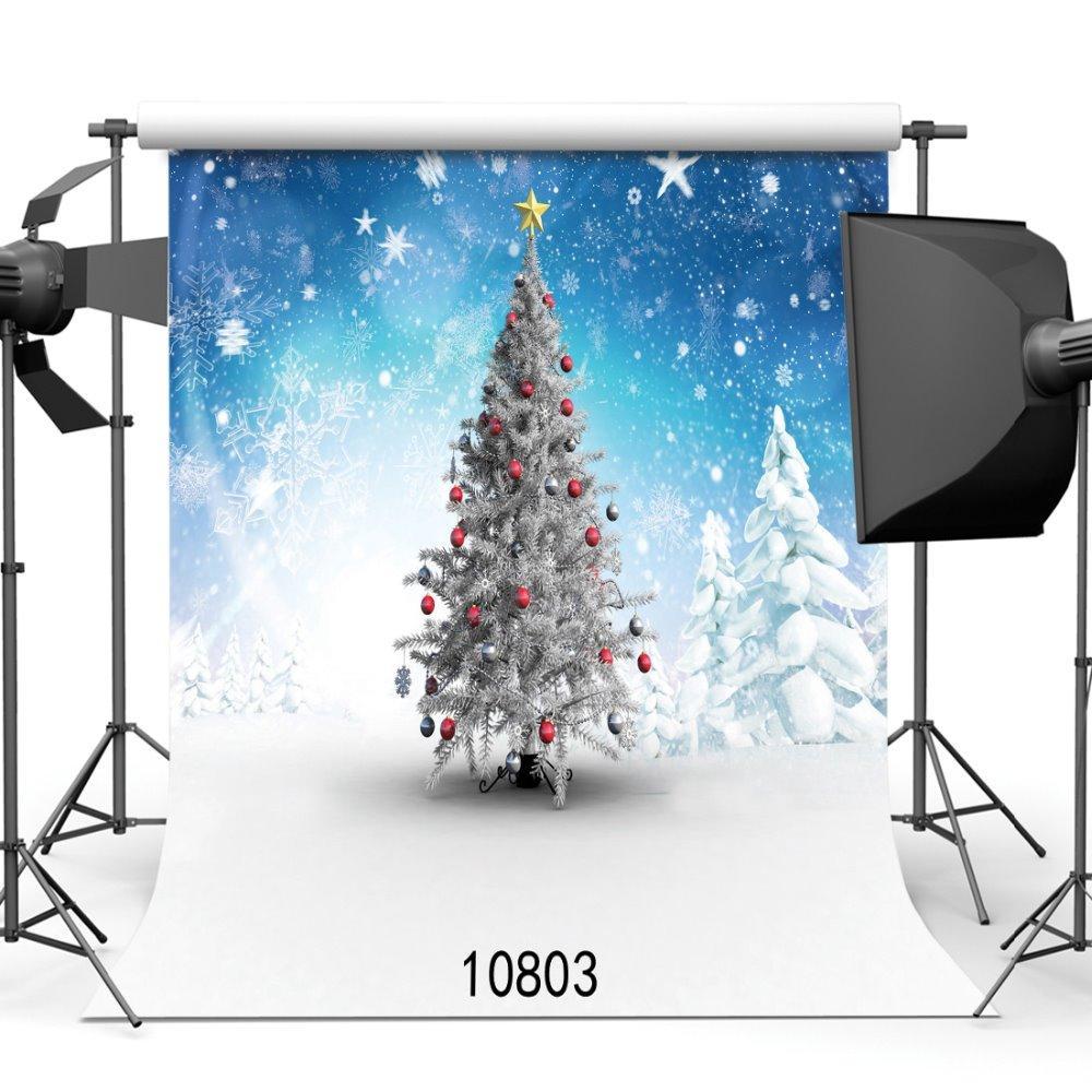 Schneiender Weihnachtsbaum.Schneiender Weihnachtsbaum Fotografie Porträt Photoshoot Photophone Hintergrund Für Foto Hintergründe Für Foto Studio Vinyl 3d