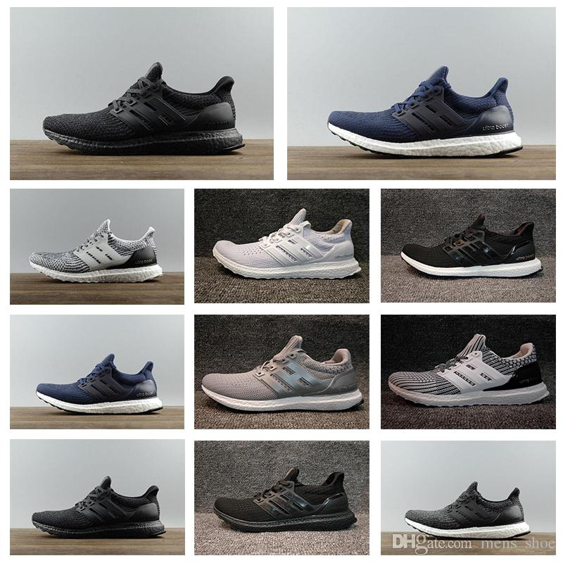 Cheap Big Ultra Boost 3.0 4.0 Men Women Running Shoes Triple Black White  CNY Oreo UltraBoost Primeknit Shoes Sports Shoe Play Ultra Boost 3.0 4.0  Running ...