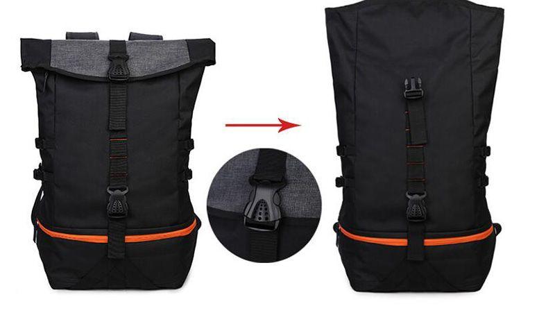 Men Backpacks Basketball Bag Sport Backpack School Bag For Teenager Outdoor