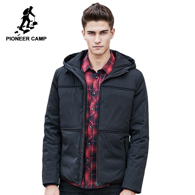 7d506d118af 2019 Pioneer Camp New Fashion Winter Down Jacket Coat Men Brand Clothing  Top Quality Male Duck Down Jacket Casual Parkas 611619 From Blueberry16