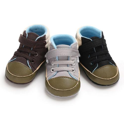 18e745932 Baby Boys Infant Boys Girls Toddler Sneaker Anti Slip Baby Casual Shoes  Kids Soft Sole Crib Shoes 0 18M Cool Running Shoes Discount Boys Running  Shoes From ...