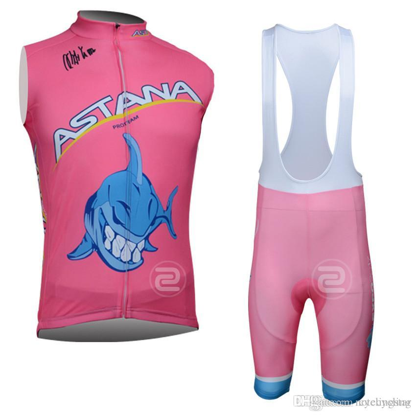 2018 Pro Team Astana Cycling Sleeveless Jersey Summer Style Mtb Bicycle  Maillot Ropa Ciclismo Quickdry Men Bicicleta Cycling Clothing F2501 Mens  Cycling ... ca456daee