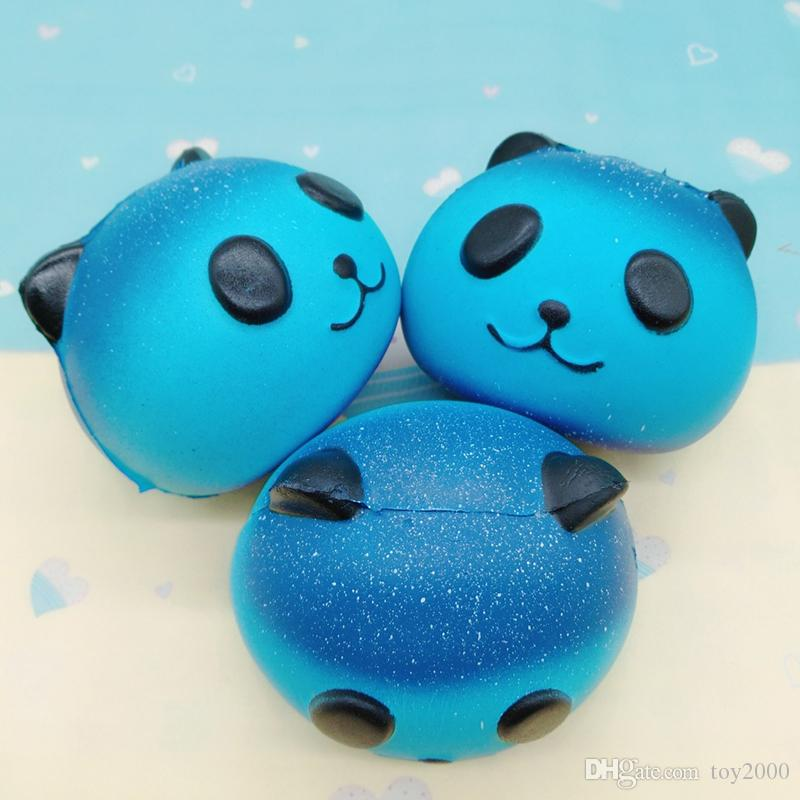 Star Sky Color Squishy toys Peach toothed panda clouds porpoise dolphin poop cotton candy whale octopus Slow Rising Rebound for kid toys