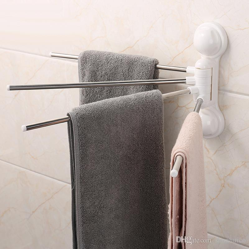 Bath towel holder Scroll 2019 Towel Holder Hanger Wall Mounted Towel Rails Bar Hanger Bath Towel Rack Tower Bars Set Rack Rotate 180 Degree From Shunhuico 662 Dhgatecom Dhgatecom 2019 Towel Holder Hanger Wall Mounted Towel Rails Bar Hanger Bath