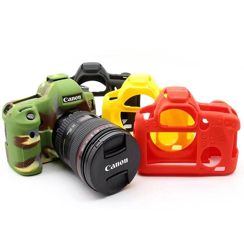 2019 high quality silicone camera cover for canon 6d 70d 77d 80d