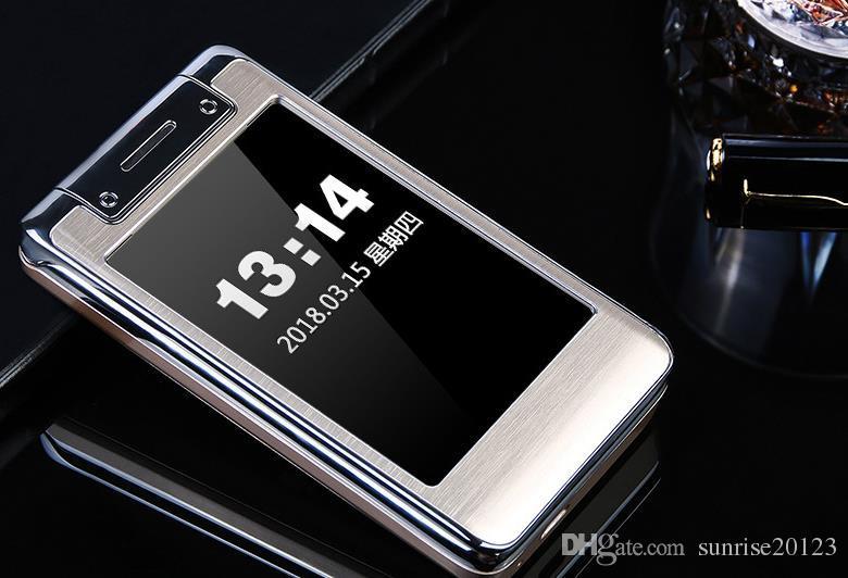 G20 flip cámara multi-color pantalla doble tarjeta de doble modo de espera, estudiante señoras en línea teléfono móvil móvil Unicom