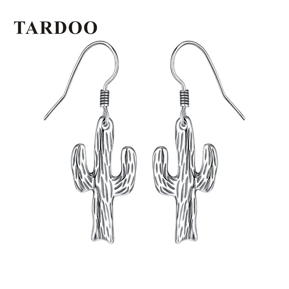 458691c07 2019 Tardoo Fashion Cactus 925 Sterling Silver Drop Earrings Female  Minimalist Cacti Post Earrings Brincos Party Girl Gifts Women From  Lovesongs, ...