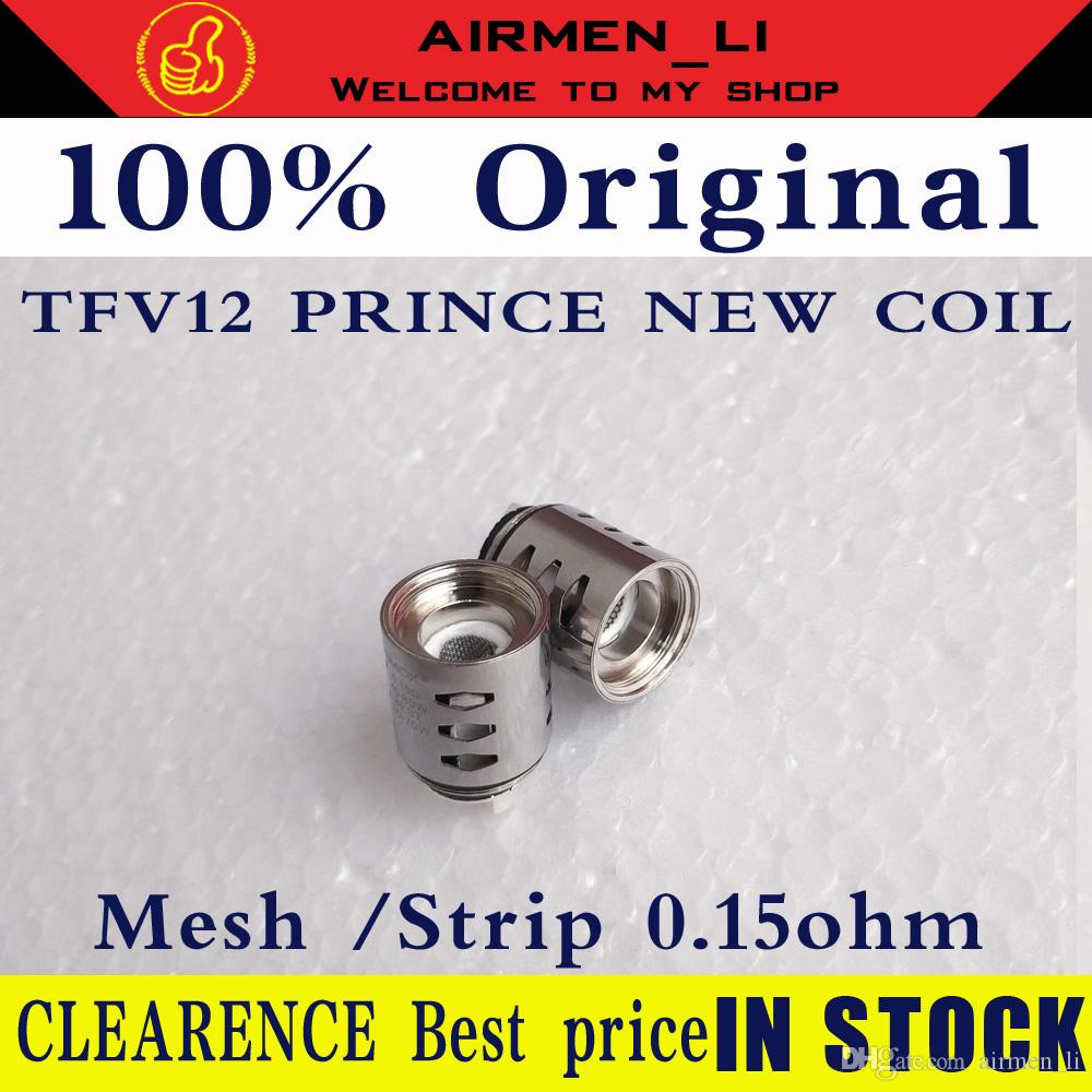 100% Original TFV12 Prince mesh coil Tank Atomizer New Coil V12 Strip Mesh 0.15ohm Replacement Coil Head Core Genuine