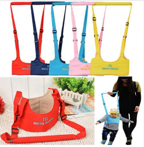 Baby Toddler Walk Toddler Safety Harness Assistant Walk Learning Walking Baby Walk Assistant Belt Carry Leashes KKA5664