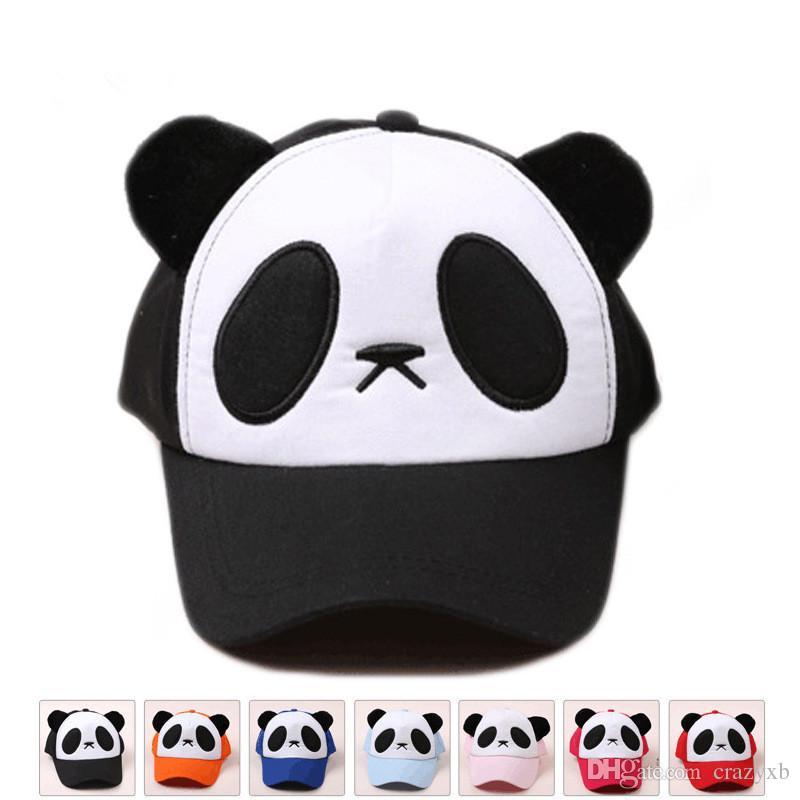Compre Adulto Niños Niños Panda Snapback Sombrero Para El Sol Sombrero Gorra  De Béisbol Gorras Snapback Gorras Hombre Bone Masculino Casquette A  4.24  Del ... 006d4381725