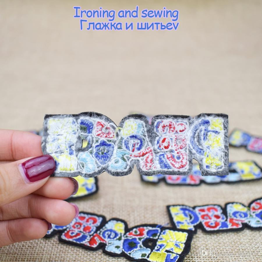 PEACE Patches for Hot Melt Adhesive for Glue Stitch Embroidery Clothing Patches for Stripe Sewing Stitchwork Garment Accessories Patch