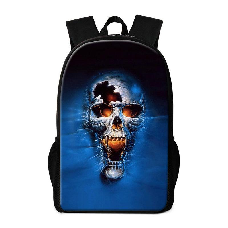 948d23f25ae9 New Arrival Student Backpacks For Teenage Girls Boys Skull Printed Travel  Shoulder Bag Top Quality School Bags Bookbag Children Daily Rugtas Backpack  Sale ...