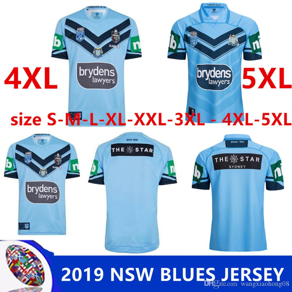 7a8f2031943 2019 NSW BLUES HOME PRO JERSEY NSW STATE OF ORIGIN 2018 ELITE ...