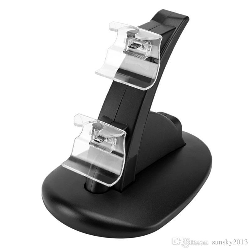 Controladores de jogos dual de carregamento doca estação de suporte para Xbox One Xbox One Game Gaming Controller Console Sem Fio
